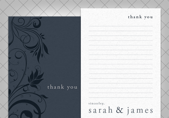 Brennan Collection -Thank you Card