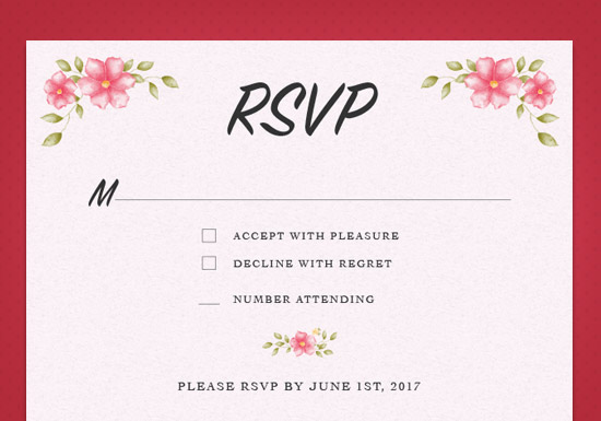 Heather Collection - RSVP