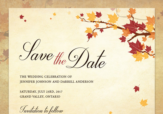 Lauren Collection - Save the Date
